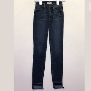 PAIGE Jeans - PAIGE ultra-skinny Hoxton in Woodrow High-Rise